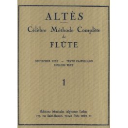 ALTES-Método de flauta 1 LEDUC