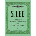 LEE-40 estudios para cello vol. 1/2 BOILEAU